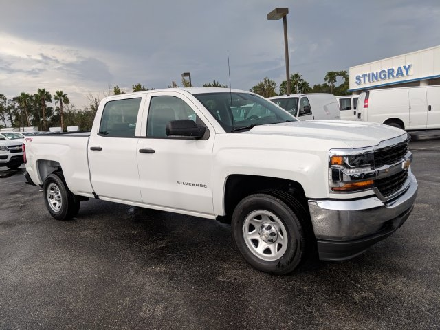 2018 Silverado 1500 Crew Cab 4x4,  Pickup #JF221928 - photo 5