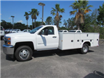 2018 Silverado 3500 Regular Cab DRW,  Knapheide Standard Service Body #JF227958 - photo 3