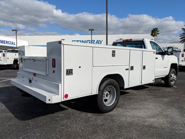 2018 Silverado 3500 Regular Cab DRW 4x2,  Reading Service Body #JF237324 - photo 2