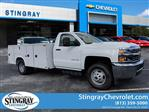 2018 Silverado 3500 Regular Cab DRW 4x2,  Reading Service Body #JF237324 - photo 1