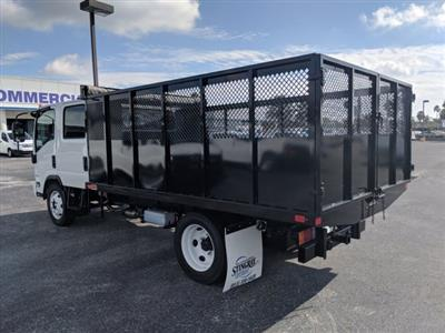 2018 LCF 4500 Crew Cab,  Action Fabrication Landscape Dump #JS805223 - photo 6