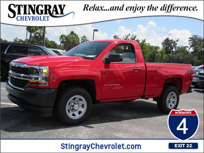 2018 Silverado 1500 Regular Cab 4x2,  Pickup #JZ115866 - photo 1