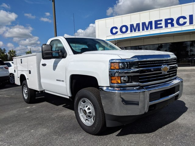 2018 Silverado 2500 Regular Cab 4x2,  Knapheide Service Body #JZ167707 - photo 4