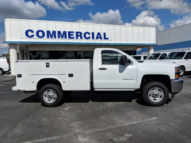 2018 Silverado 2500 Regular Cab 4x2,  Knapheide Service Body #JZ167707 - photo 3