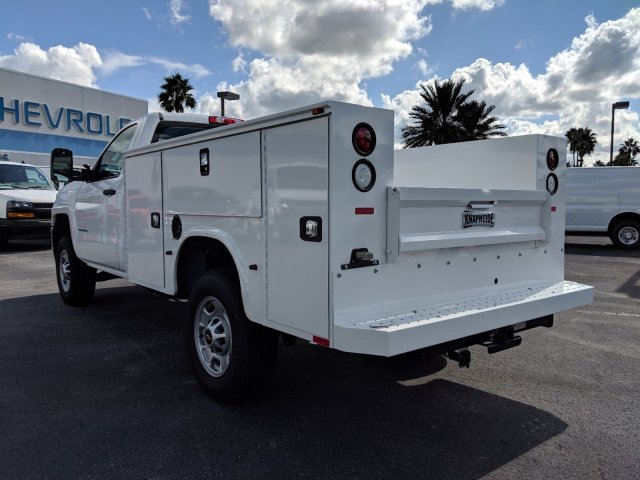 2018 Silverado 2500 Regular Cab 4x2,  Knapheide Service Body #JZ167707 - photo 6