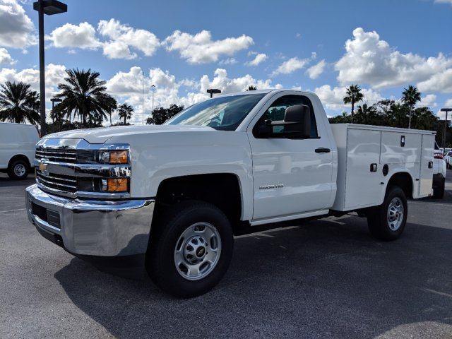 2018 Silverado 2500 Regular Cab 4x2,  Knapheide Service Body #JZ167707 - photo 7