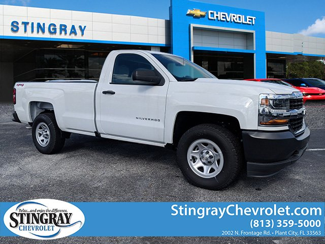 2018 Silverado 1500 Regular Cab 4x4,  Pickup #JZ245304 - photo 1