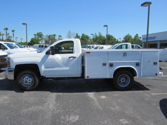 2018 Silverado 3500 Regular Cab DRW,  Reading SL Service Body #JZ248281 - photo 3