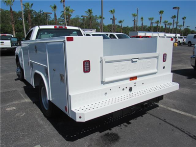 2018 Silverado 3500 Regular Cab DRW,  Reading SL Service Body #JZ248281 - photo 2