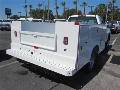 2018 Silverado 3500 Regular Cab DRW,  Reading SL Service Body #JZ248281 - photo 5