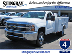 2018 Silverado 3500 Regular Cab DRW,  Reading SL Service Body #JZ248281 - photo 1