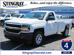 2018 Silverado 1500 Regular Cab 4x2,  Pickup #JZ305887 - photo 1