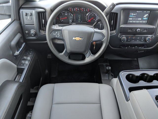 2019 Silverado 3500 Crew Cab DRW 4x4,  Platform Body #KF111048 - photo 14