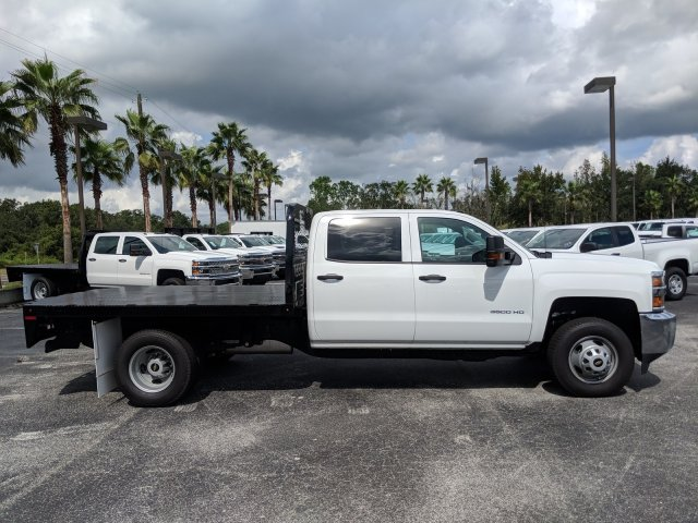 2019 Silverado 3500 Crew Cab DRW 4x4,  Platform Body #KF111048 - photo 6