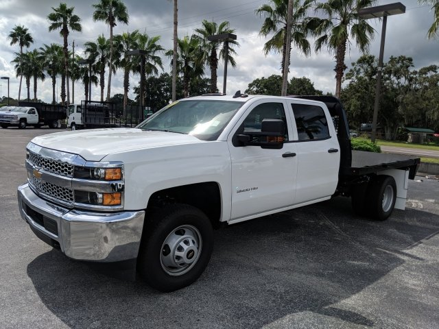 2019 Silverado 3500 Crew Cab DRW 4x4,  Platform Body #KF111048 - photo 7