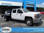 2019 Silverado 3500 Crew Cab DRW 4x4,  Platform Body #KF111048 - photo 1