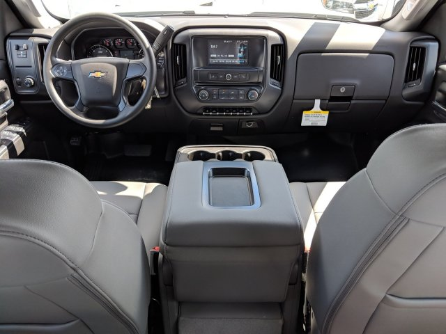 2019 Silverado 3500 Crew Cab DRW 4x2,  Platform Body #KF116313 - photo 14