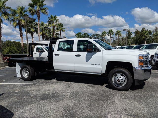 2019 Silverado 3500 Crew Cab DRW 4x2,  Platform Body #KF116313 - photo 5