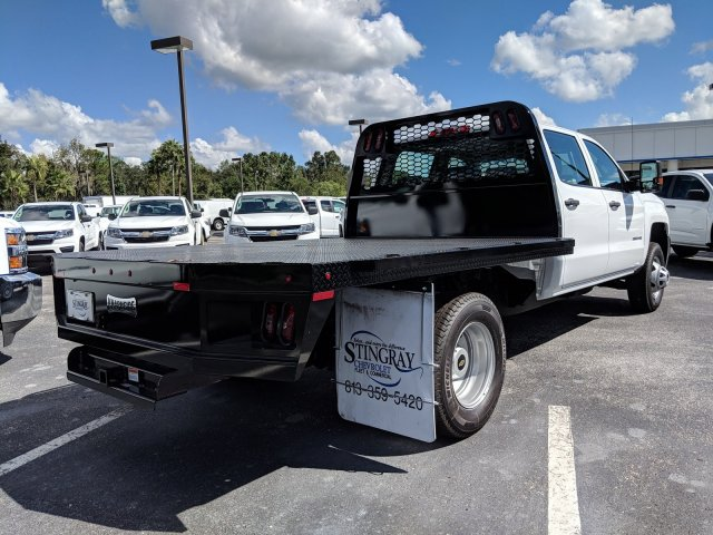 2019 Silverado 3500 Crew Cab DRW 4x2,  Platform Body #KF116313 - photo 6