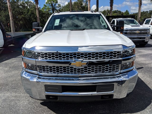 2019 Silverado 3500 Crew Cab DRW 4x2,  Platform Body #KF116313 - photo 8