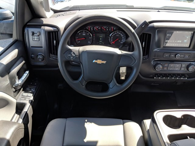 2019 Silverado 3500 Crew Cab DRW 4x2,  Platform Body #KF116642 - photo 15