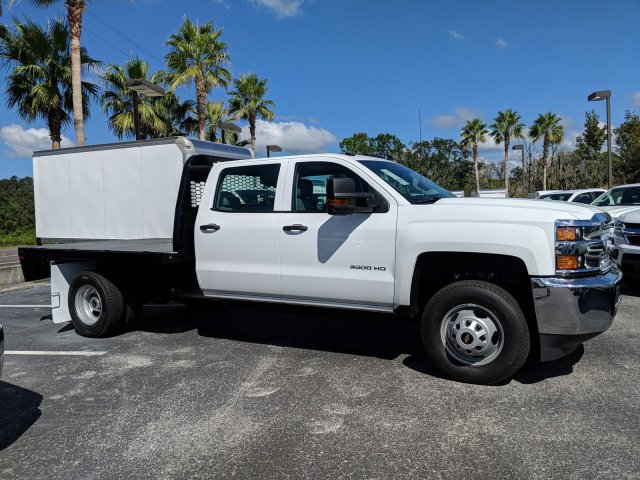 2019 Silverado 3500 Crew Cab DRW 4x2,  Platform Body #KF116642 - photo 5