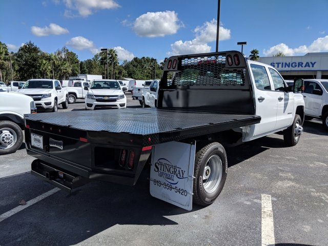 2019 Silverado 3500 Crew Cab DRW 4x2,  Platform Body #KF116642 - photo 6