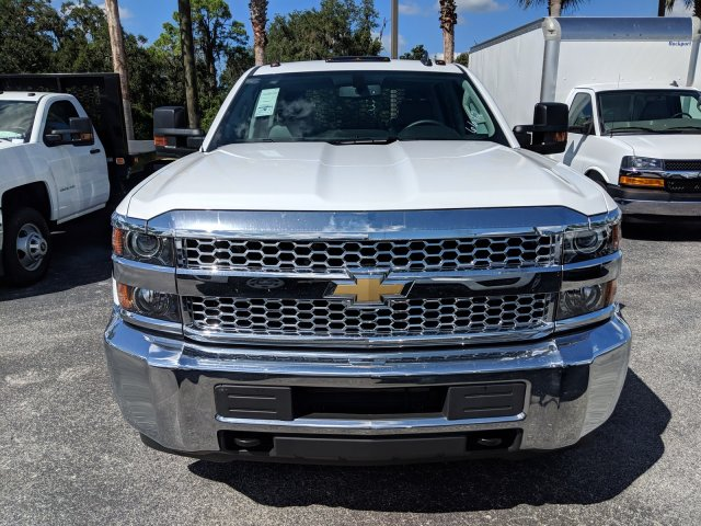 2019 Silverado 3500 Crew Cab DRW 4x2,  Platform Body #KF116642 - photo 8