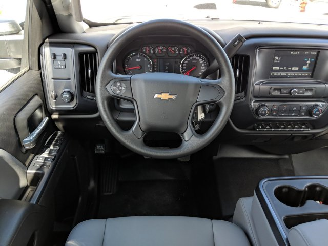 2019 Silverado 3500 Crew Cab DRW 4x2,  Platform Body #KF117668 - photo 15
