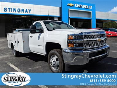 2019 Silverado 3500 Regular Cab DRW 4x4,  Knapheide Standard Service Body #KF120400 - photo 1