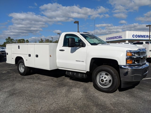 2019 Silverado 3500 Regular Cab DRW 4x2,  Knapheide Service Body #KF145915 - photo 4