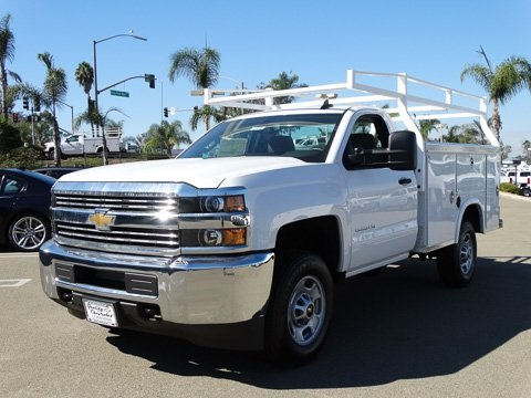 2017 Silverado 2500 Regular Cab, Royal Service Bodies Service Body #172301 - photo 6