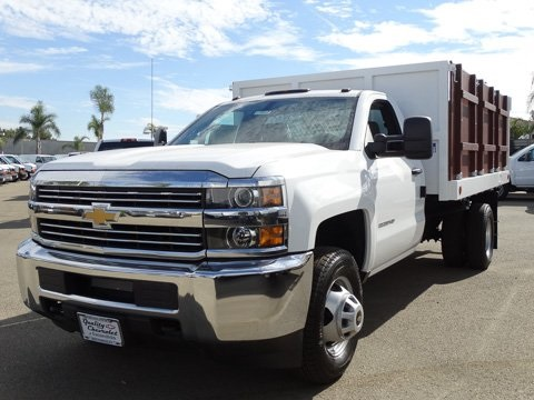2017 Silverado 3500 Regular Cab DRW 4x2,  Royal Landscape Dump #172312 - photo 6