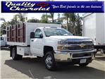 2017 Silverado 3500 Regular Cab DRW 4x2,  Royal Landscape Dump #172312 - photo 1