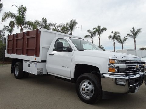 2017 Silverado 3500 Regular Cab DRW 4x2,  Royal Landscape Dump #172328 - photo 3