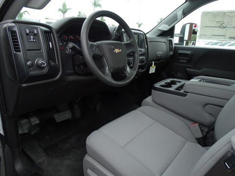 2017 Silverado 3500 Regular Cab DRW 4x2,  Royal Landscape Dump #172328 - photo 8