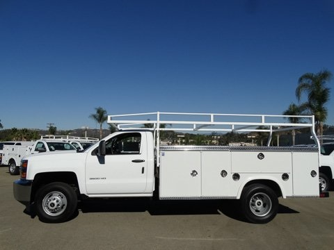 2017 Silverado 3500 Regular Cab DRW 4x2,  Royal Service Body #172401 - photo 3