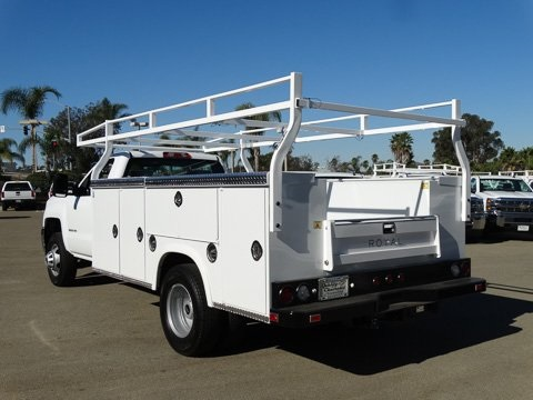 2017 Silverado 3500 Regular Cab DRW 4x2,  Royal Service Body #172401 - photo 2