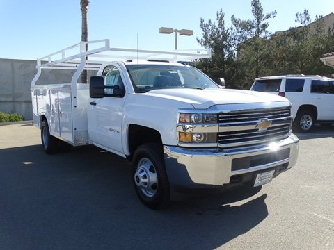 2017 Silverado 3500 Regular Cab DRW 4x2,  Royal Service Body #172401 - photo 6