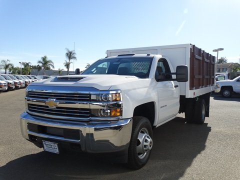 2017 Silverado 3500 Regular Cab DRW 4x2,  Royal Landscape Dump #172404 - photo 6