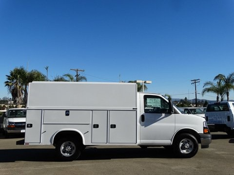 2017 Express 3500 4x2,  Knapheide Service Utility Van #172409 - photo 3