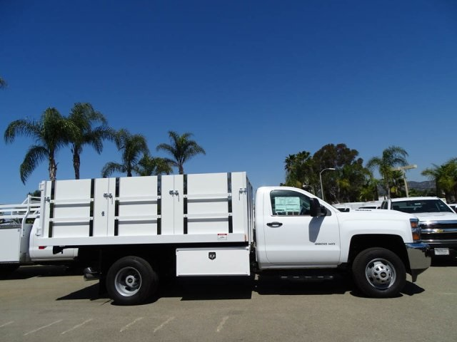 2018 Silverado 3500 Regular Cab DRW 4x2,  Harbor Master Landscape Dump #180353 - photo 3