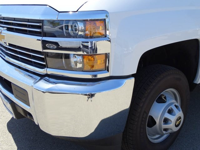 2018 Silverado 3500 Regular Cab DRW 4x2,  Harbor Master Landscape Dump #180353 - photo 6