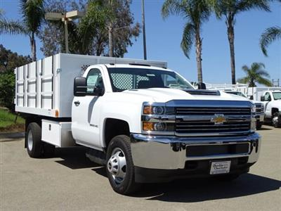 2018 Silverado 3500 Regular Cab DRW 4x2,  Harbor Master Landscape Dump #180353 - photo 1