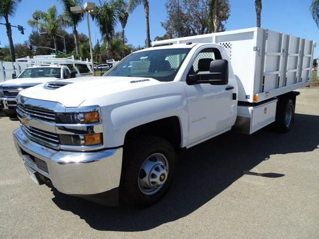 2018 Silverado 3500 Regular Cab DRW 4x2,  Harbor Landscape Dump #180354 - photo 6