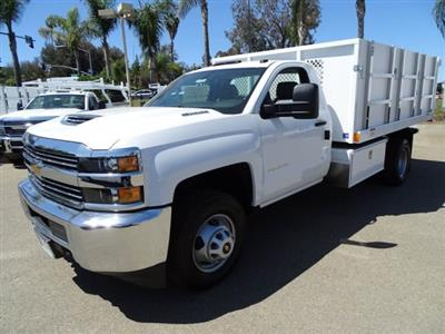 2018 Silverado 3500 Regular Cab DRW, Harbor Master Landscaper Landscape Dump #180354 - photo 6