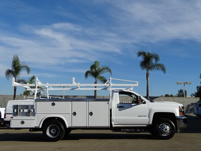 2018 Silverado 3500 Regular Cab DRW 4x2,  Royal Combo Body #180610 - photo 3