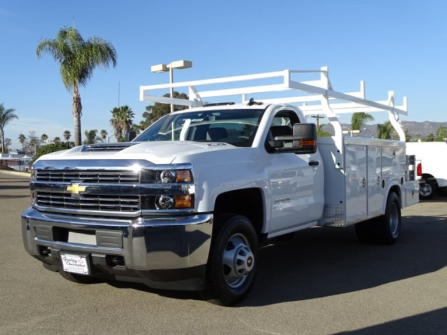 2018 Silverado 3500 Regular Cab DRW 4x2,  Royal Combo Body #180610 - photo 6