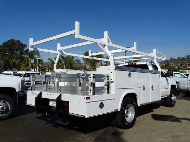 2018 Silverado 3500 Regular Cab DRW 4x2,  Royal Combo Service Bodies Combo Body #180812 - photo 2