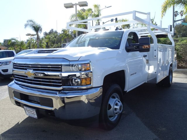 2018 Silverado 3500 Regular Cab DRW 4x2,  Royal Combo Service Bodies Combo Body #180812 - photo 6